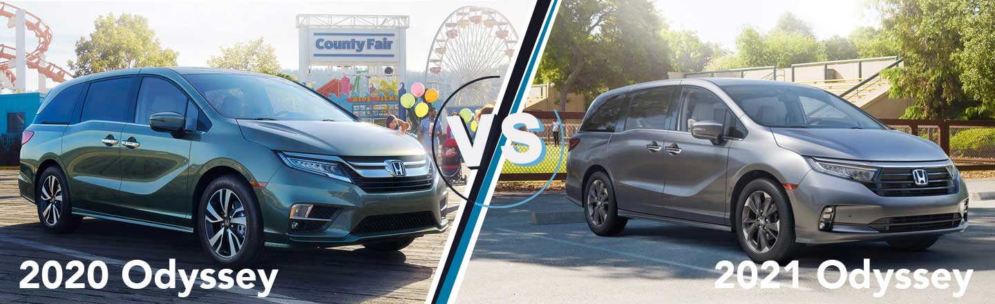 Model Year Comparison: 2020 Honda Odyssey Vs. 2021 Honda Odyssey