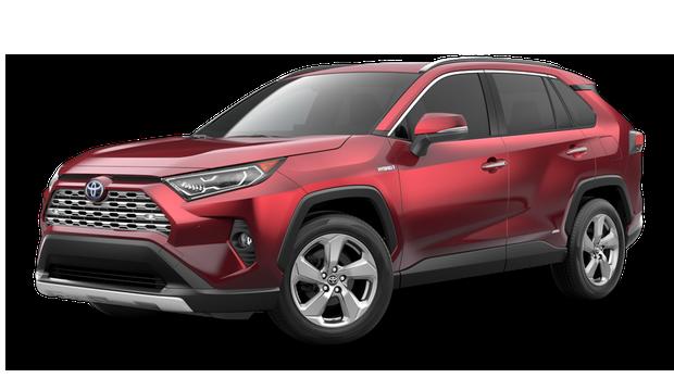 2021 Toyota RAV4 Limited Hybrid