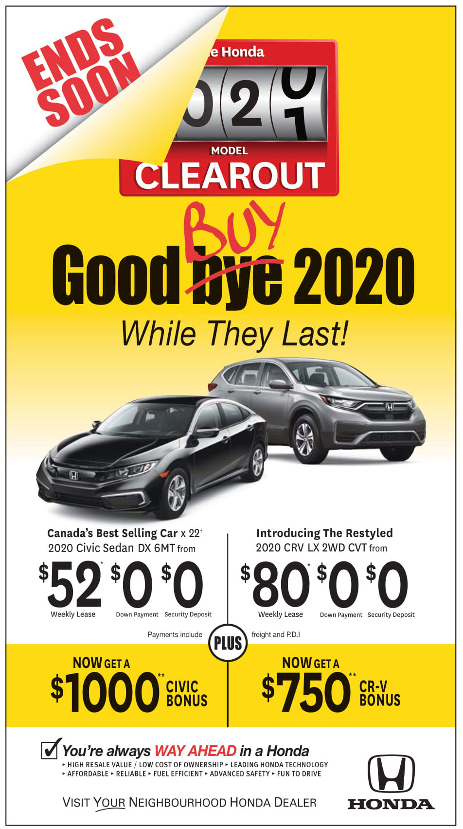 Good Buy 2020