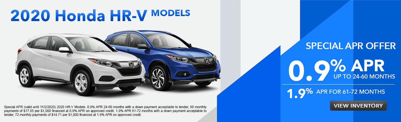 2020 Honda HR-V Models