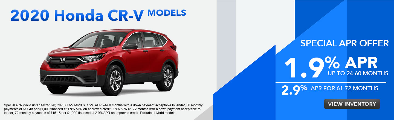 2020 Honda CR-V Models