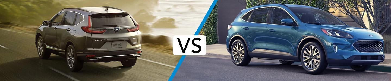Discover How The 2020 Honda CR-V Compares to the 2020 Ford Escape