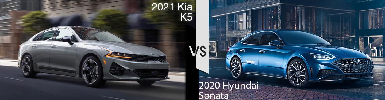 2021 Kia k5 vs 2020 Hyundai Sonata
