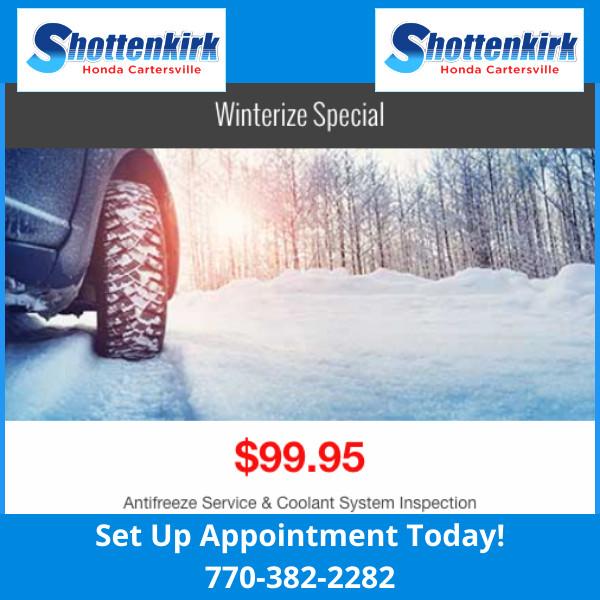 Winterize Savings
