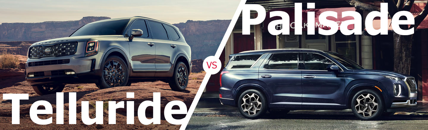 2021 Kia Telluride Vs. 2021 Hyundai Palisade In Kenner, Louisiana