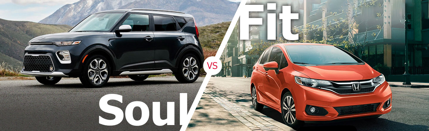 2021 Kia Soul Vs. 2020 Honda Fit In Kenner, Louisiana
