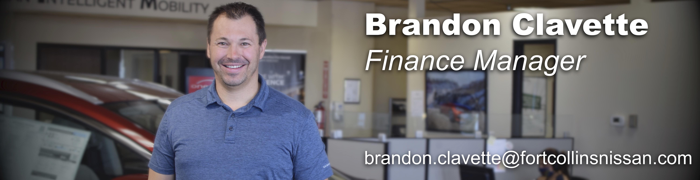 Finance Manager Brandon Clavette