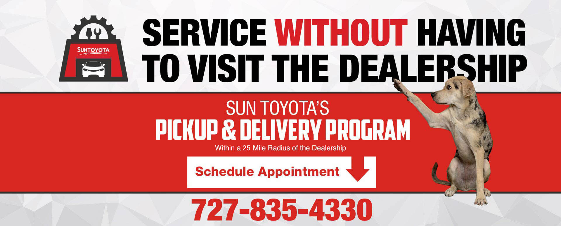 Service Without Having To Visit The Dealership | Sun Toyotas Pickup & Delivery Program