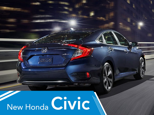 New Honda Civic Lease Deal in Highland Park near Chicago, IL