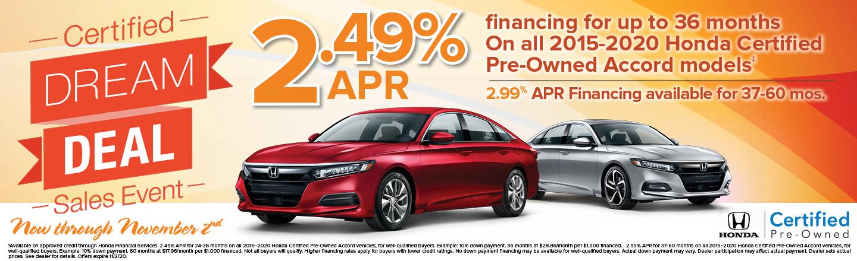 Honda Certified Accord