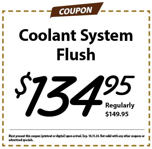 Coolant Special
