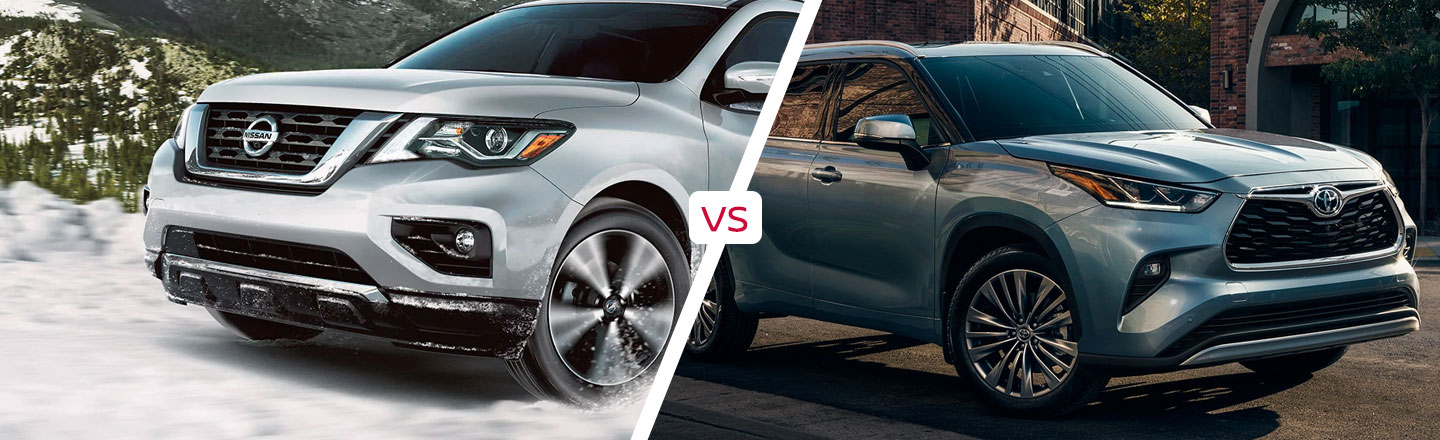 How The 2020 Nissan Pathfinder Compares To The 2020 Toyota Highlander