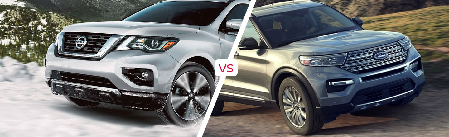 How The 2020 Nissan Pathfinder Compares To The 2020 Ford Explorer