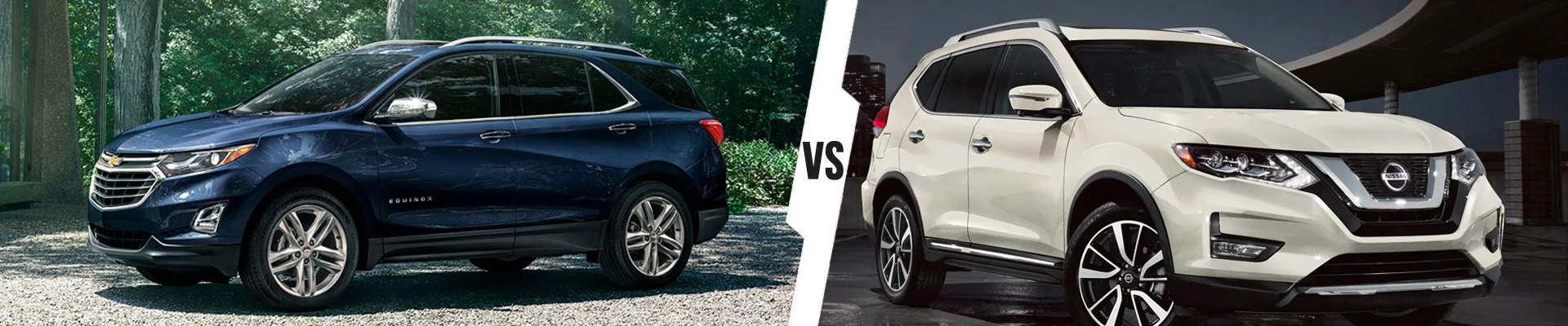 Compact Crossover SUV Comparison: 2021 Chevrolet Equinox Versus 2020 Nissan Rogue