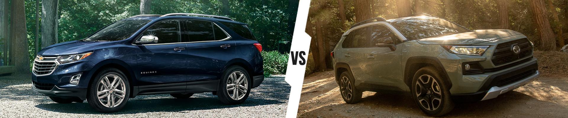 Compact Crossover SUV Comparison: 2021 Chevrolet Equinox Versus 2021 Toyota RAV4