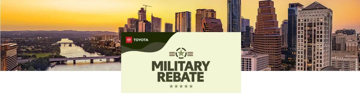 Toyota Military Rebate In Covington, Louisiana