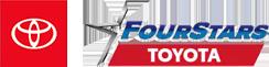 four stars toyota logo