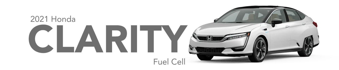 Discover the 2021 Honda Clarity Fuel Cell in Southwest Florida