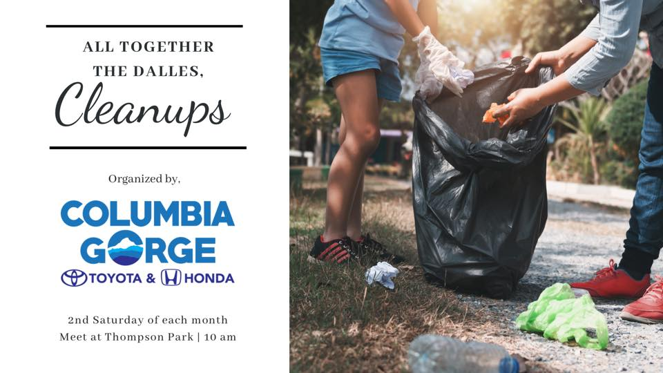 Columbia Gorge Honda The Dalles Cleanups