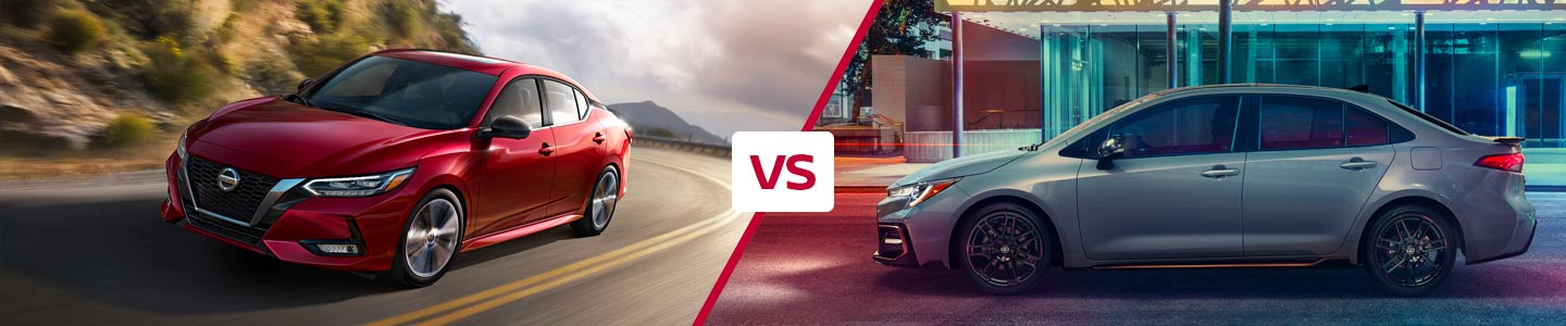 Compare the 2020 Nissan Sentra and 2020 Toyota Corolla in Fremont, CA