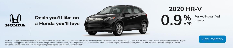 Columbia Gorge Honda HR-V Special