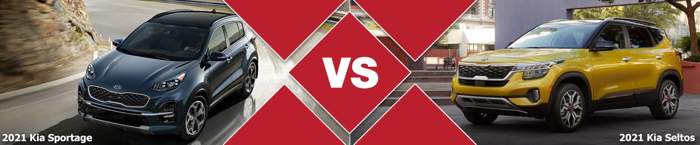 2021 Kia Sportage vs 2021 Kia Seltos Compact SUV Comparison