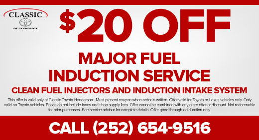 Major Fuel Induction Service