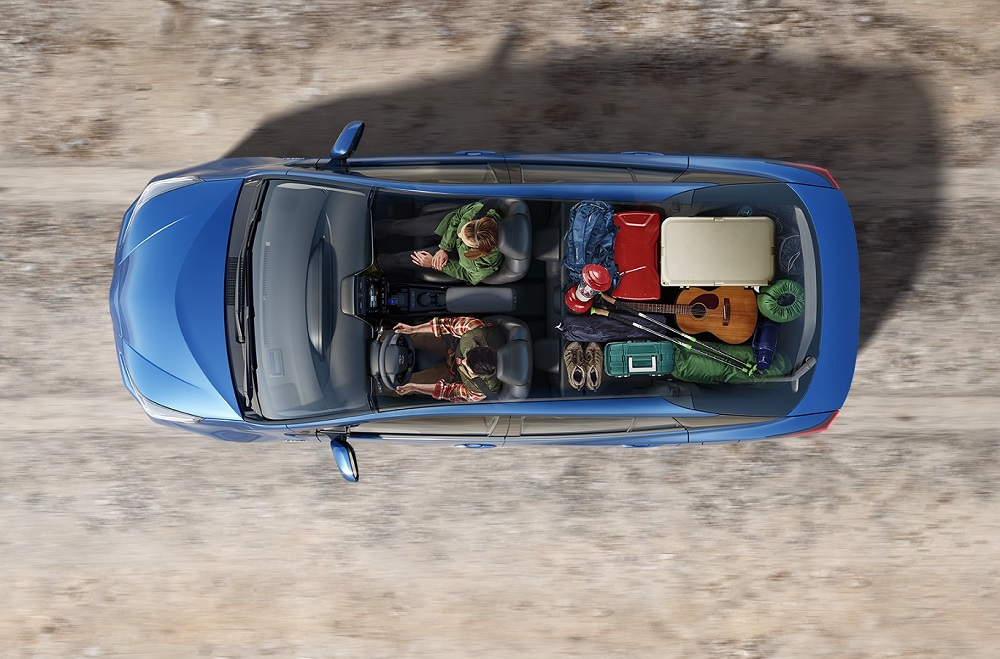 Toyota Prius Interior Space
