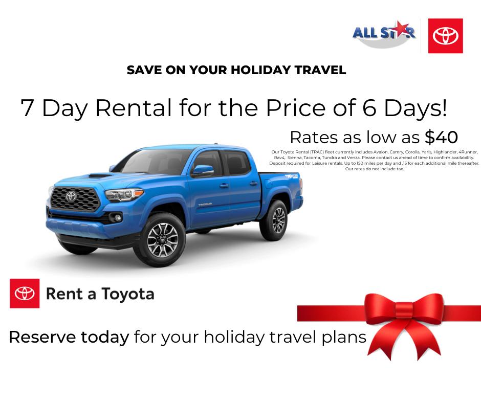 Rent A Toyota