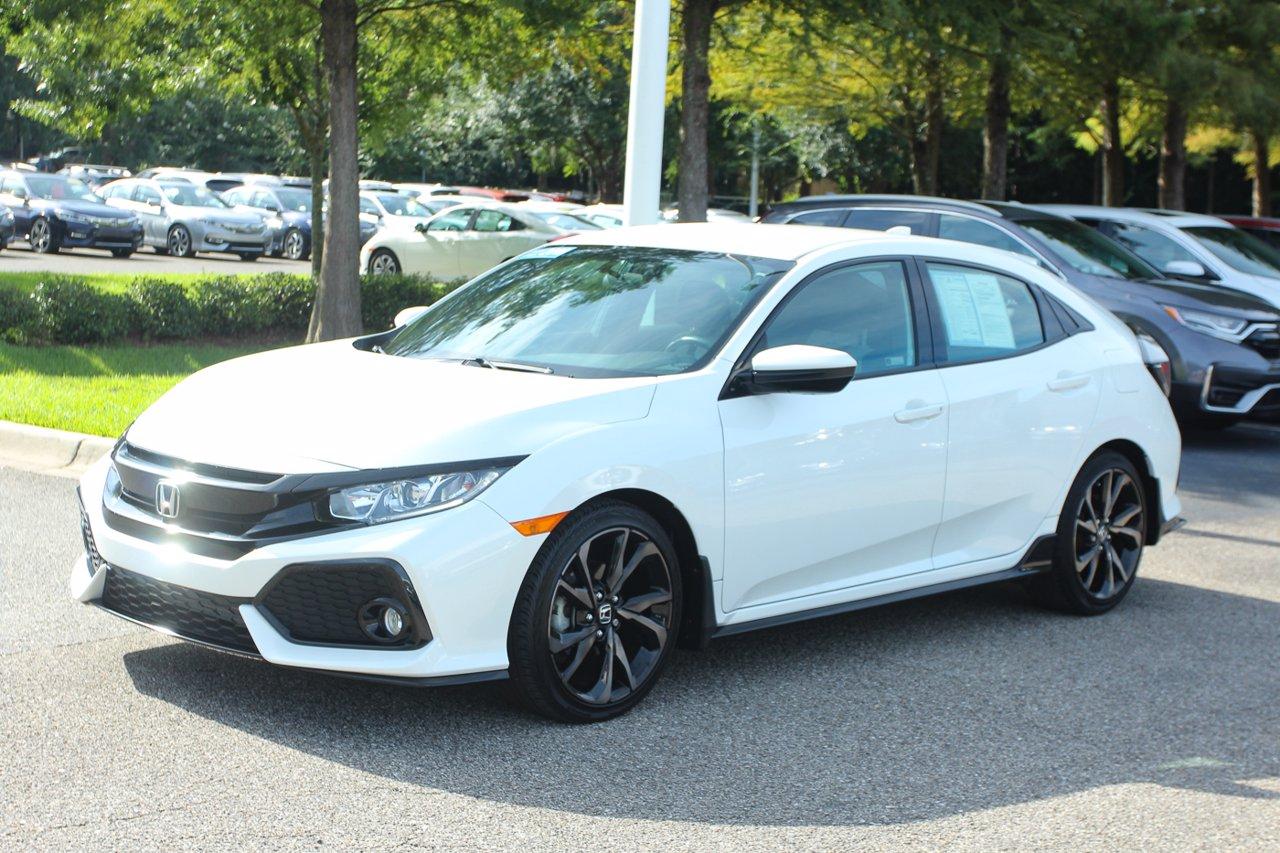 Certified 2018 Honda Civic Hatchback Sport