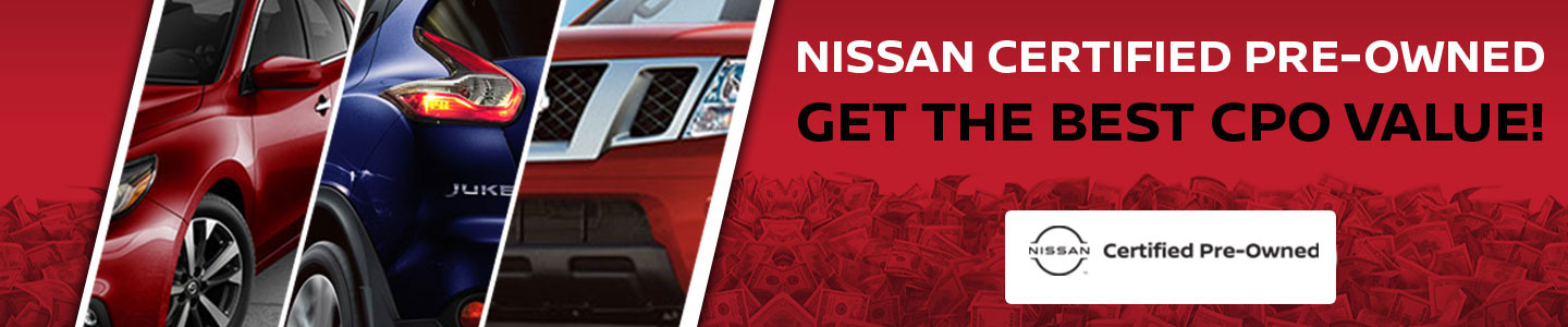 Nissan certified pre-owned at ken ganley nissan dealership