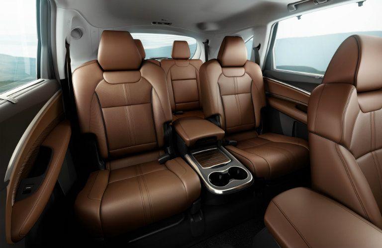 2018 Acura MDX rear passenger seats