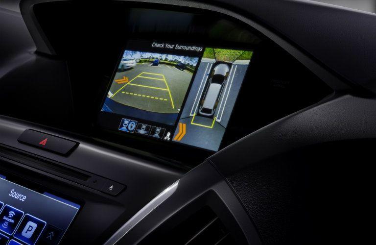 2018 Acura MDX rear camera display