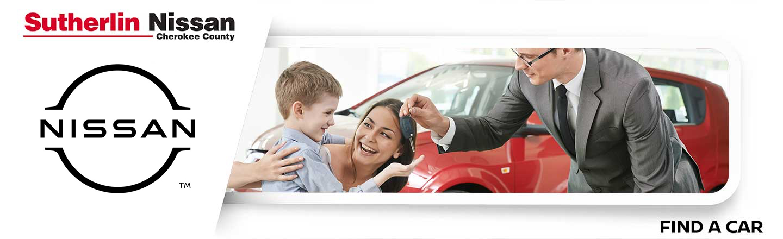 Sutherlin Nissan Cherokee County Car Finder