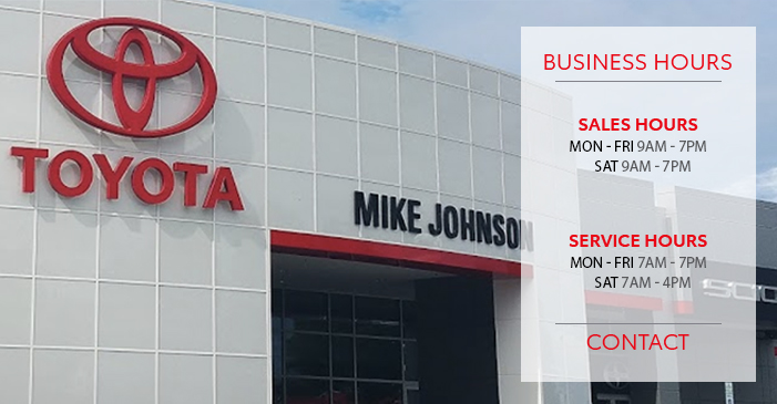 dealership hours of business