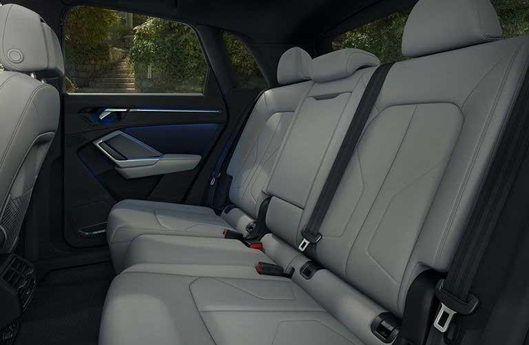 2020 Audi Q3 back seats