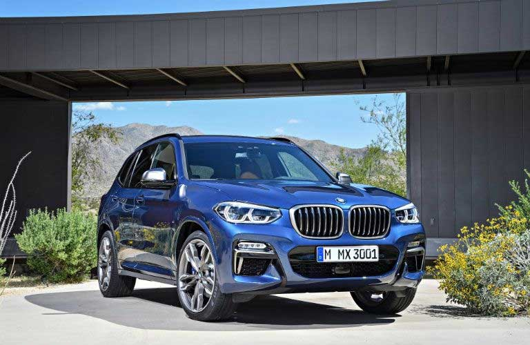 BMW X3 front profile