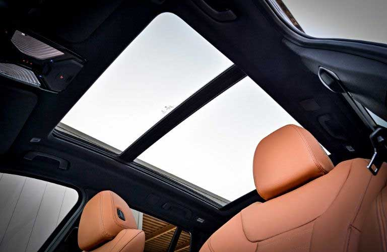 BMW X3 sunroof