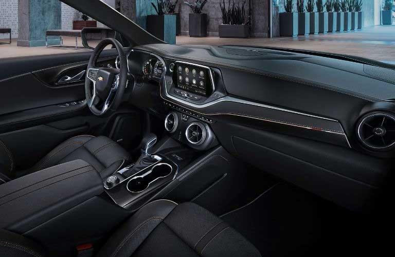 Chevy Blazer front interior