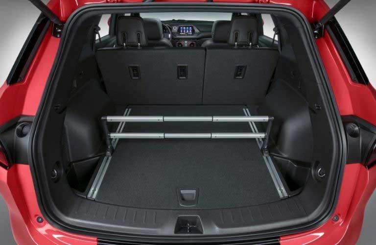 Chevy Blazer rear cargo area