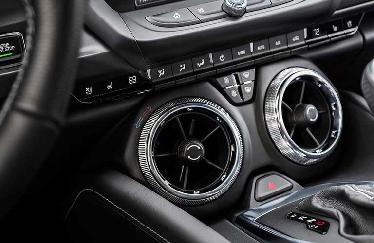 Chevy Camaro front interior air vents
