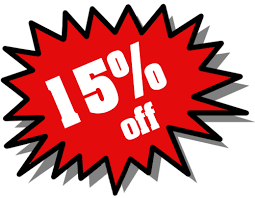15% OFF ANY REPAIRS OVER $300