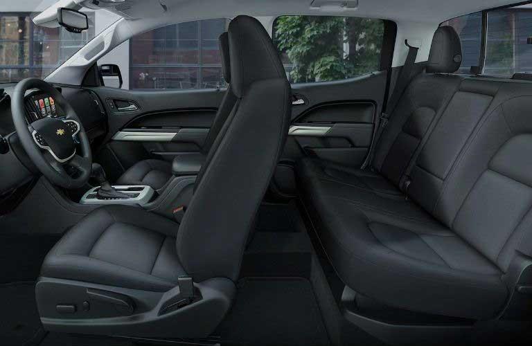 Chevy Colorado interior seats