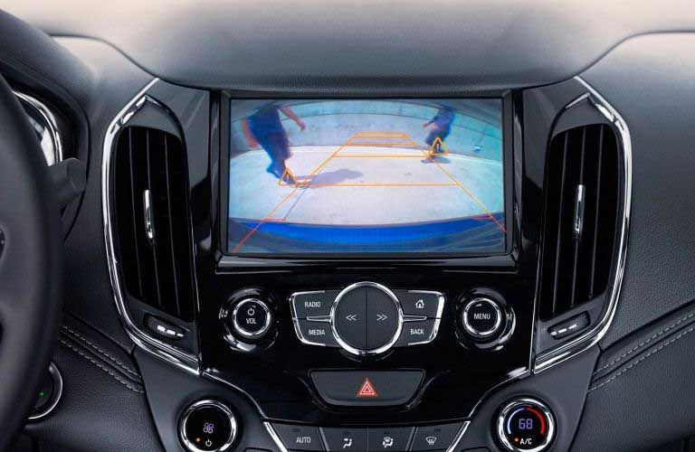 Chevy Cruze rearview camera