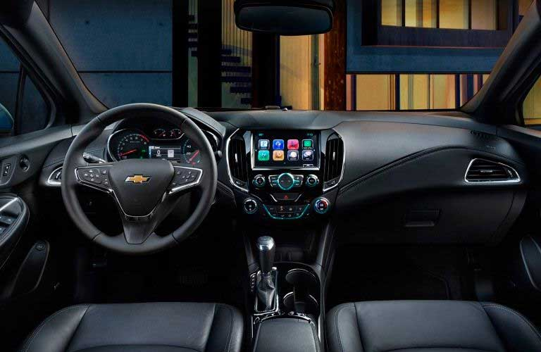 Chevy Cruze front dashboard
