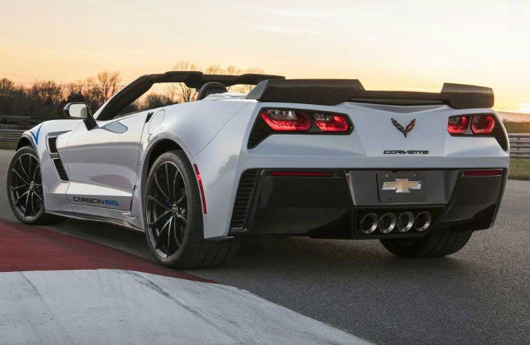 Chevy Corvette rear profile