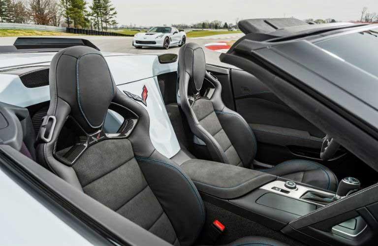 Chevy Corvette passenger seats