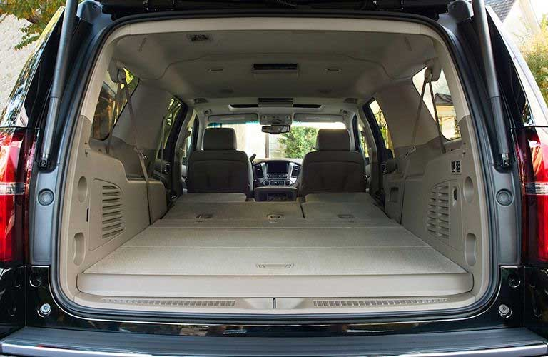 Chevrolet Suburban rear cargo area