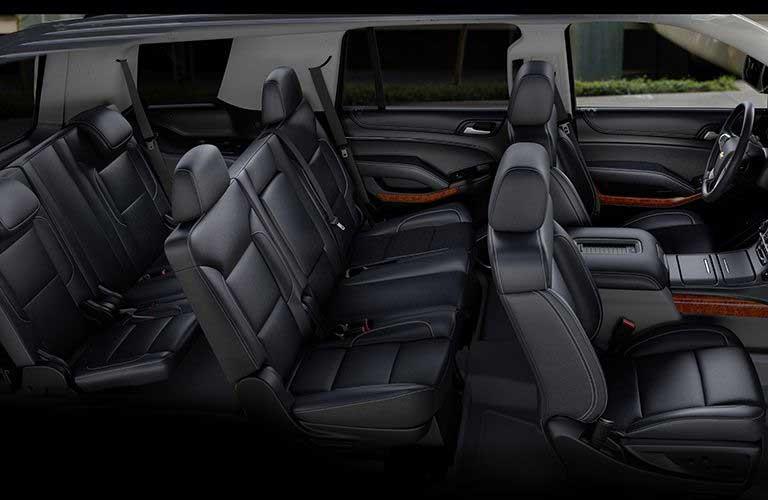Chevrolet Tahoe passenger seats