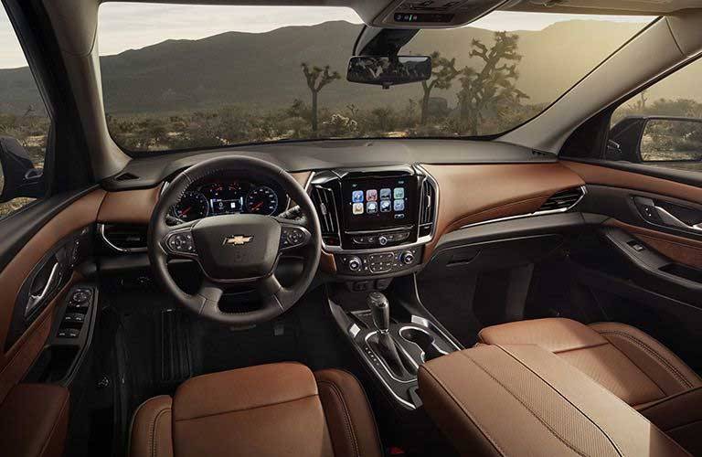 Chevy Traverse front dashboard